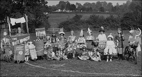 Co-op Society Childrens Day in the 1930s