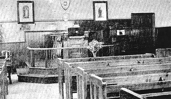 Church Interior c1933