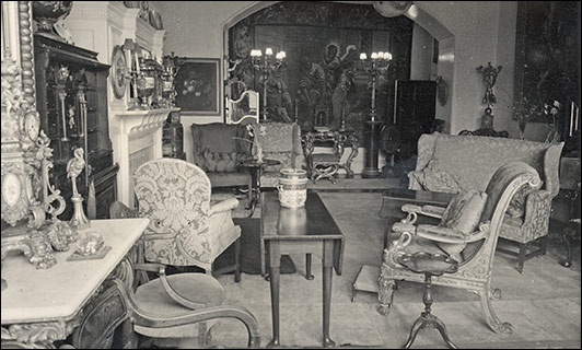 The Rectory dining room in 1961