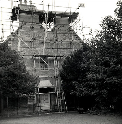 Rectory chimney repairs in the 1950s