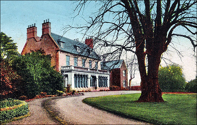 Burton Latimer Rectory early 1900s