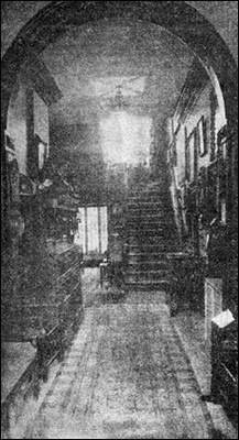The Rectory hallway as it was.