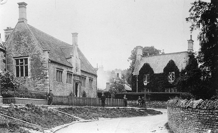 The Jacobean School built in 1622 and the Victorian School House