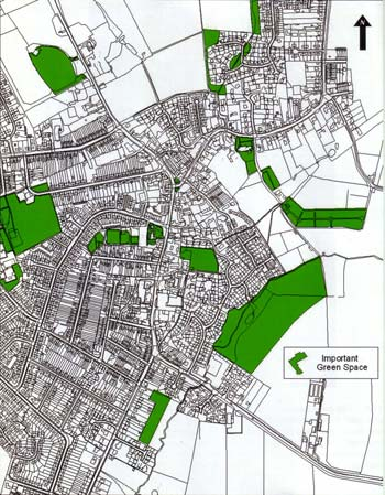 Conservation area - important green space