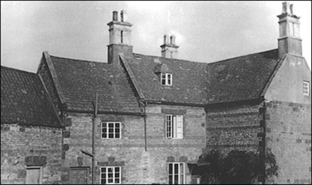 Rear of Home Farm 1965 before demolition