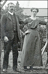 Percy & Alice Herbert in their younger days