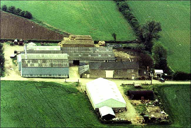 Burton Wold Farm in 1976