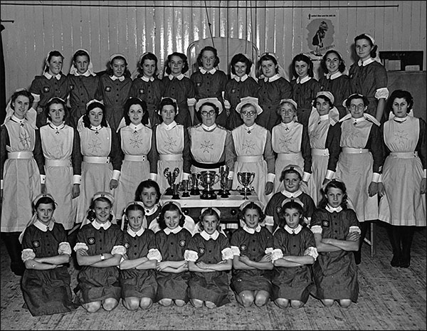 The Nursing and Cadet Division of St John Ambulance Brigade 1948