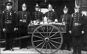 Burton Latimer Fire Brigade in the 1930s