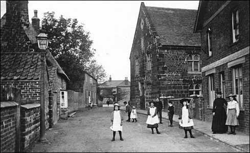 Dr Burland's surgery, next to the Baptist Chapel in Meeting Lane
