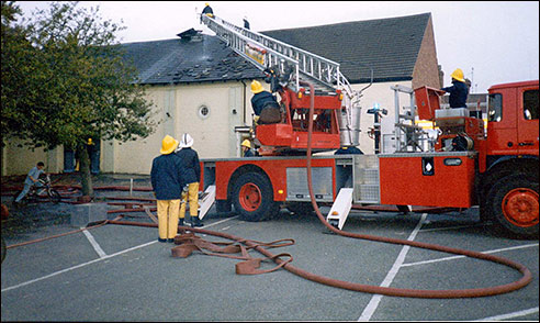1990 fire in the old cinema building