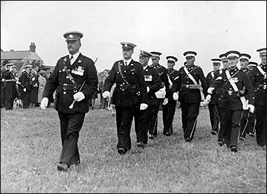 "St John Ambulance Brigade March Past at the ""Rec"" 1930's"