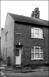 Former police house at 30 Newman Street, Burton Latimer