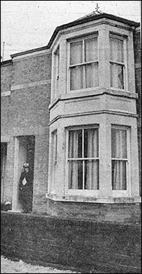 Photograph of Mrs Love's house in Station Road.