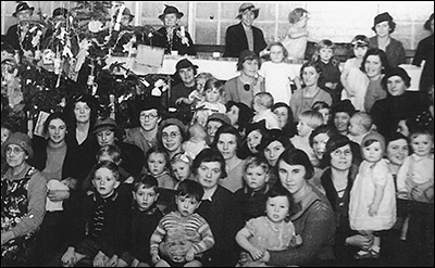 Infant Welfare Christmas Party - 1935