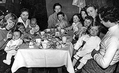 Infant Welfare party 1950s