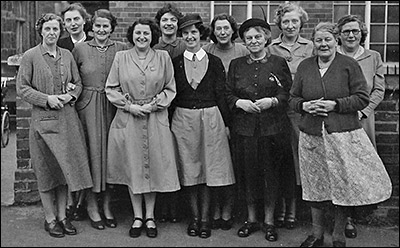 Nurses and Infant Welfare helpers 1950s