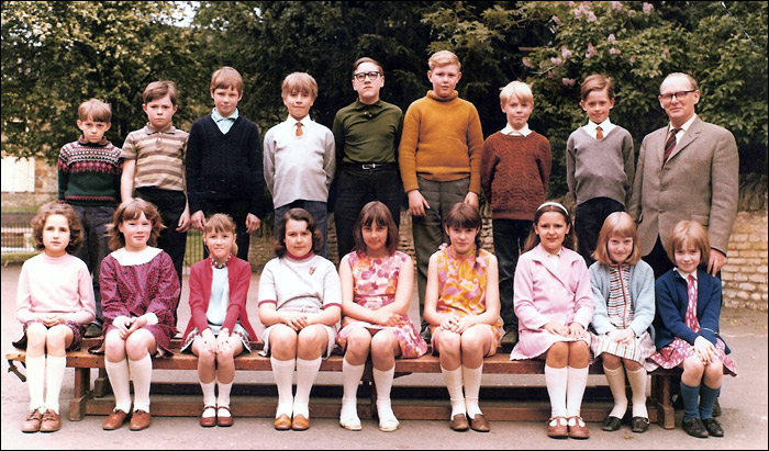 St Mary's School, Burton Latimer : St Mary's School - Mr Pringle's Class 1969-70