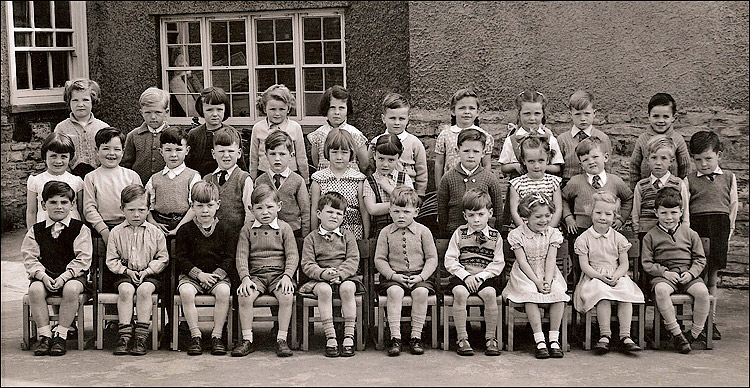 Burton Latimer - Education: Council School Infants - Reception Class 1957-8