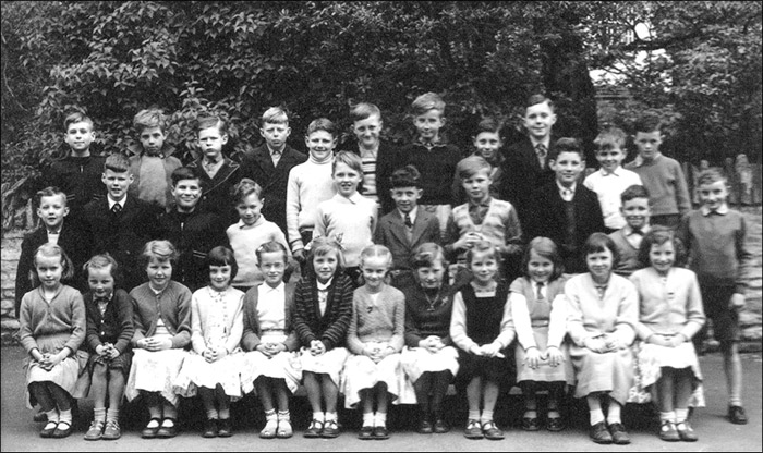 St Mary's School, Burton Latimer : Miss Appleby's Class 1958-9
