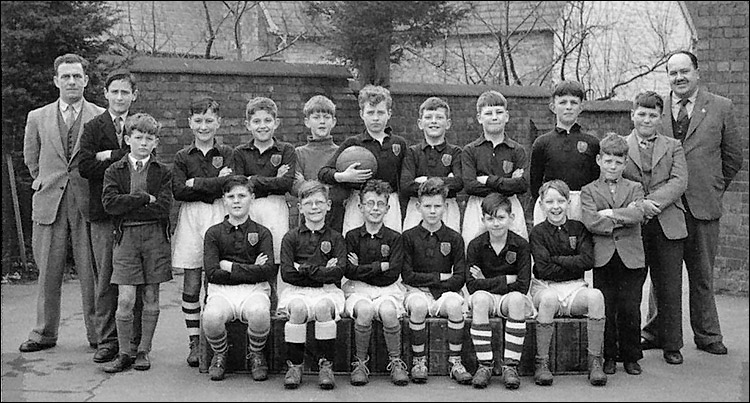 Burton Latimer County Junior School Football Team - 1956-7