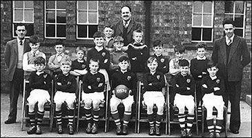 Council Junior School football team 1957-8