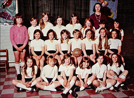 The Council Junior School Netball Team of 1973