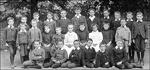 Church School pupils pictured in 1898