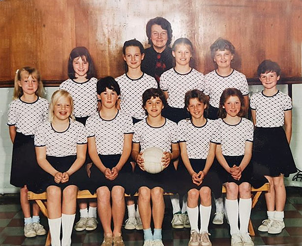 Eat Lea netball team 1985-6