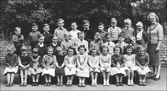 St Mary's School, Burton Latimer : Miss Hart's Class - c.1958