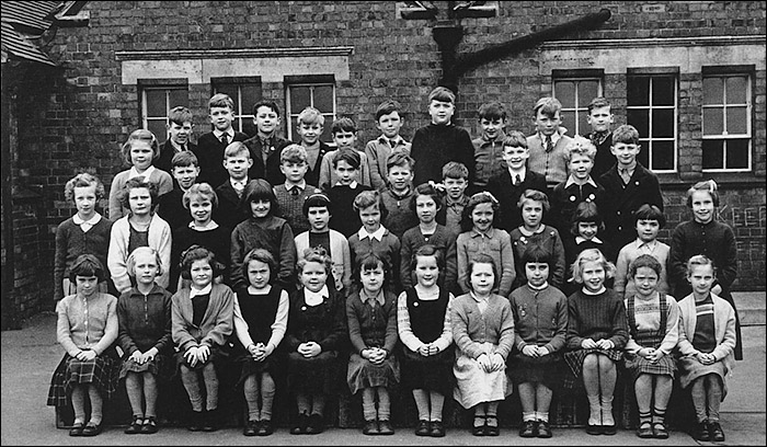 Burton Latimer Council School - Miss Clipson's Class 1956-7