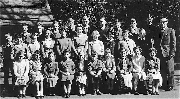 St Mary's School, Burton Latimer : Mr Pringle's Class 1956-7