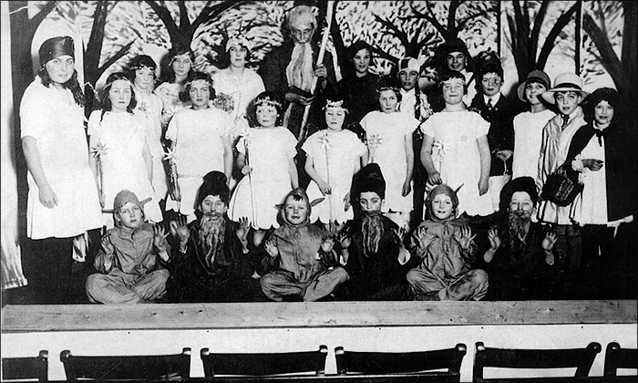 St Mary's Church School Concert - early 1930s