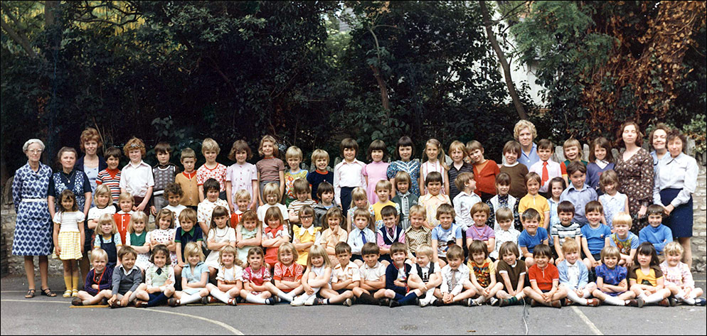 St Marys Infant school circa 1976