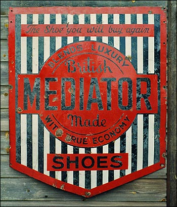 Sign showing the Mediator brand