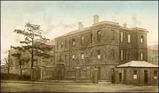 Northampton Infirmary in about 1930