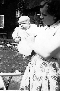Me and my mum 1956