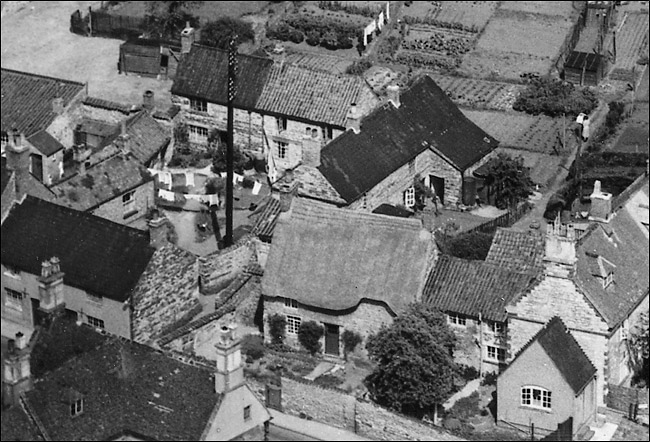 Nichol's Yard in 1950, seen from the southwest