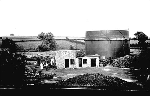 Burton Latimer Gas Works - probably in the early 1920s