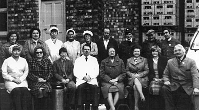 Photograph of the She Products Family and Staff taken in 1981.