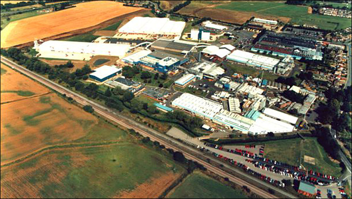 Weetabix site - an aerial view from about 2000