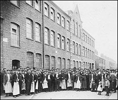 Whitney and Westley Shoe Factory in 1912