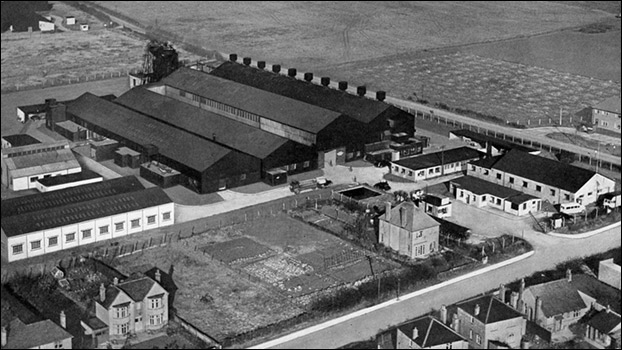 Alu7masc factory, Burton Latimer - as originally built (Sterling Metals) in 1942