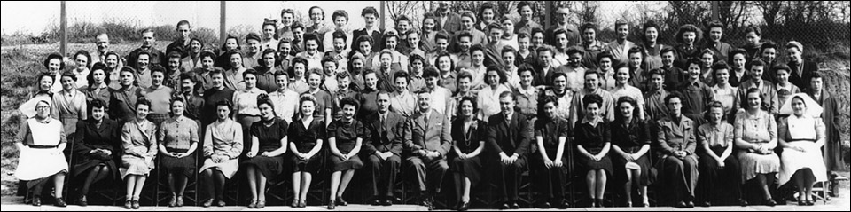 The Sterling meatls workforce c.1944