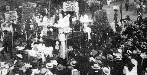 The Funeral Procession of Princess Kaiulani