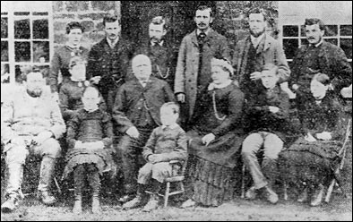 The Barlow Family at Rothwell