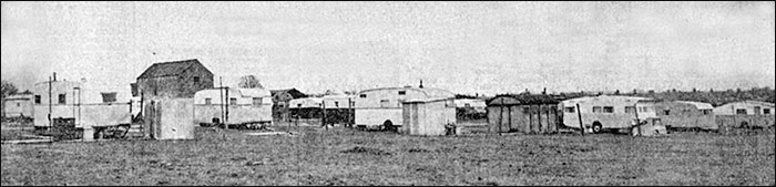 The Caravan site at Park Road, 1960