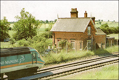 The Station House at Burton Latimer - now converted to a private residence.