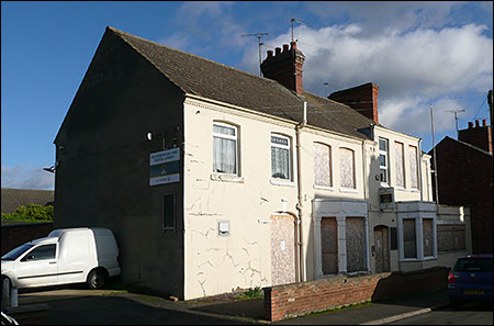 Photograph of the unused premises taken in December 2009.