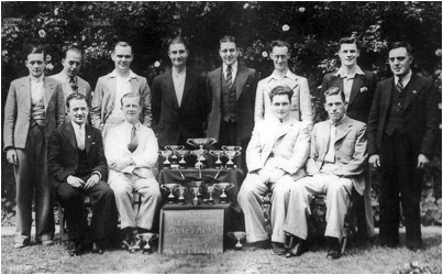 The 1937-8 Darts team
